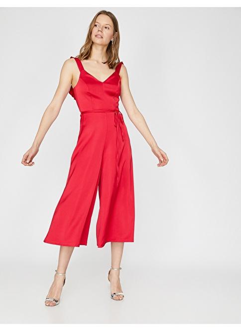 599b7eff20dd9 Koton Kadın Tulum Kırmızı | Morhipo | 23505436